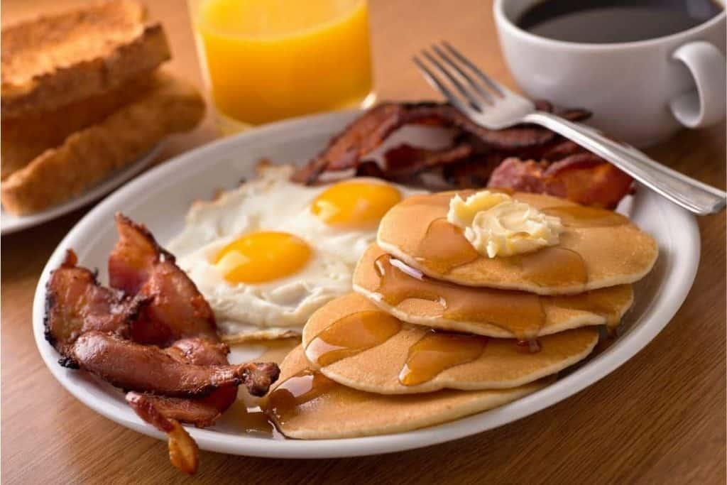 Planning ahead for Breakfast