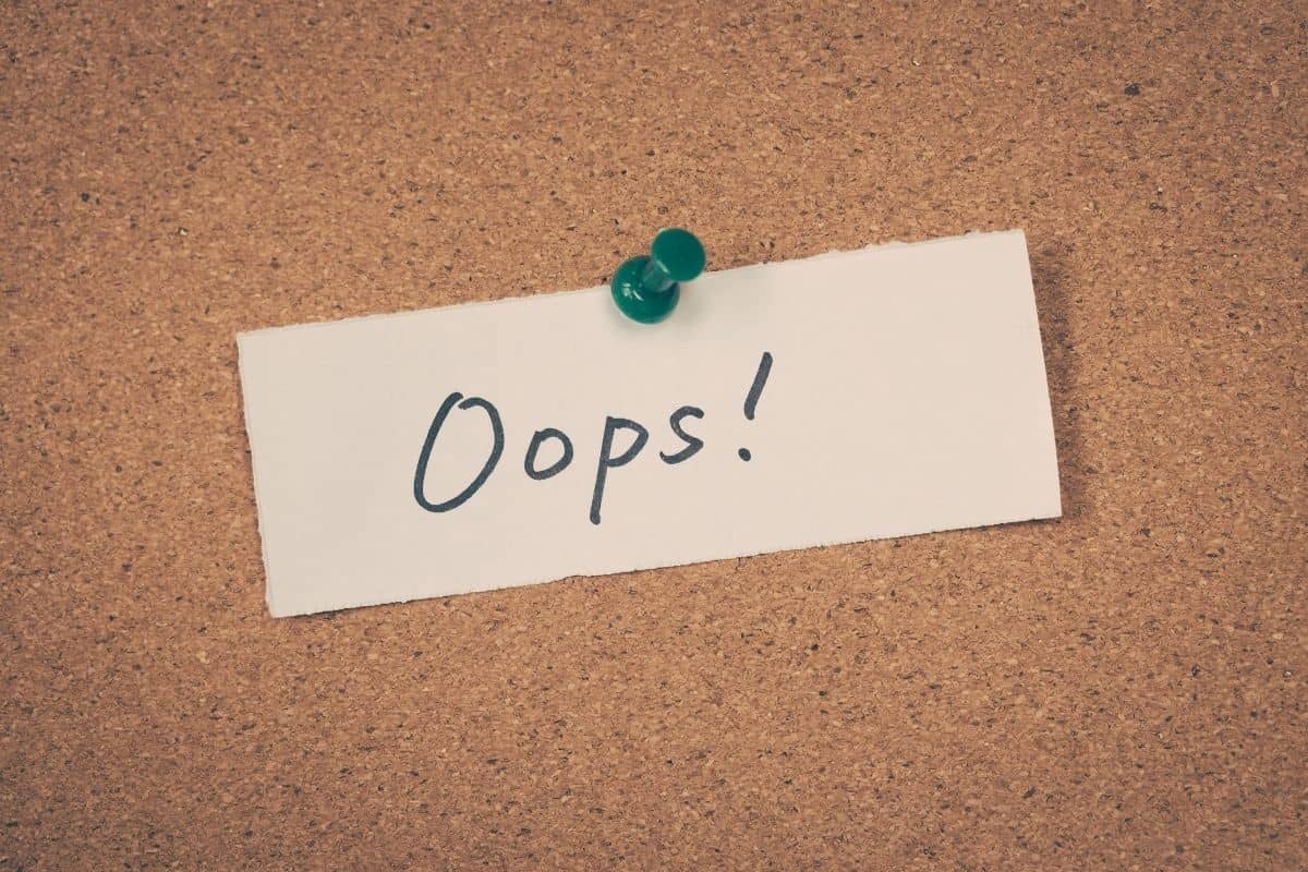 Whoops - Error 404